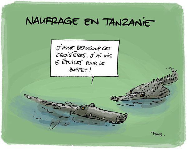 Naufrage en Tanzanie