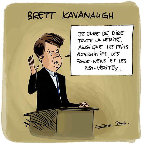 La vérite de Kavanaugh et plus encore.