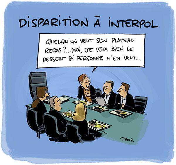 Où est passé le directeur d'Interpol ?