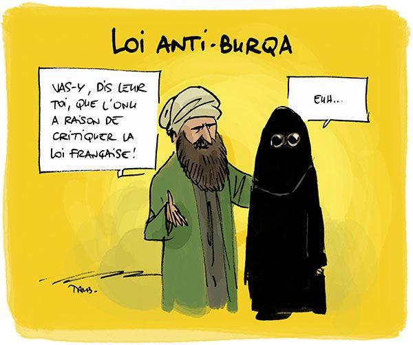 Un avis sur la Burqa