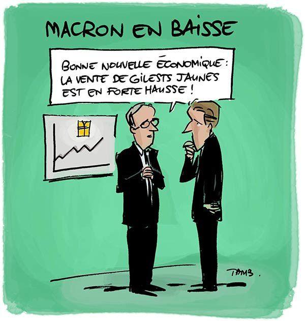 Tout ne va pas si mal pour Emmanuel Macron !
