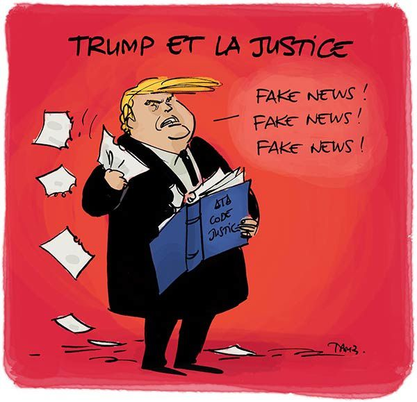 Les Fake News s'accumulent contre Trump