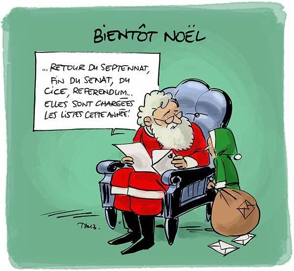 Les listes de Noël, ça devient n'importe quoi.
