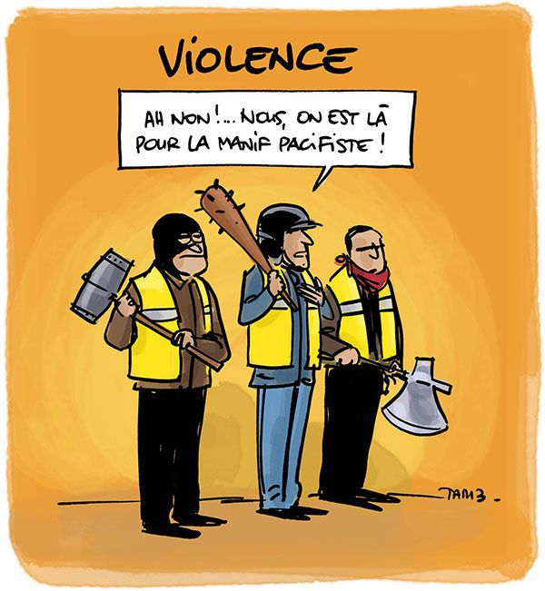 Des violences ? Quelle violence ?