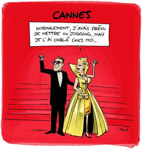 A Cannes, on s'habille n'importe comment.