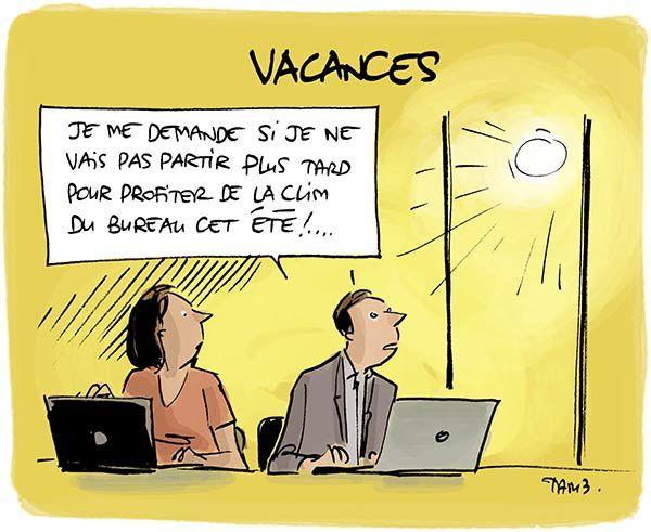 Il fait quelle température en vacances ?
