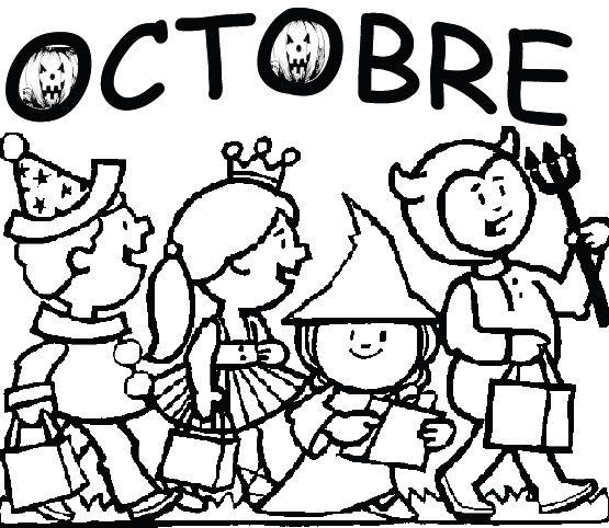 Coloriage Cp Octobre.Theme Halloween Mois D Octobre Et Novembre Activites Pour La