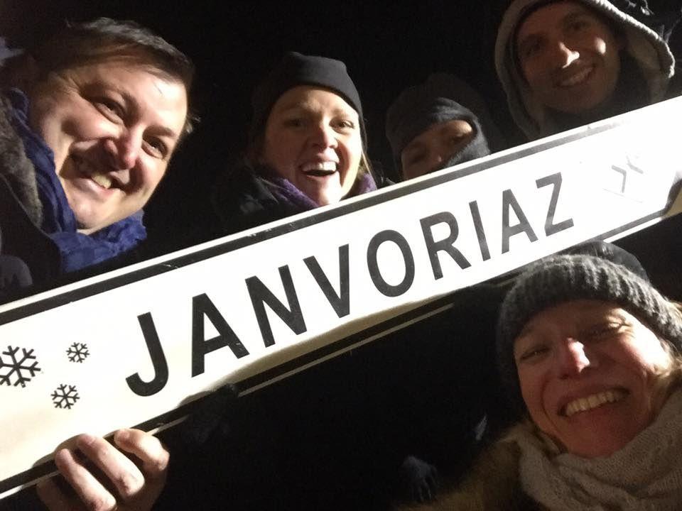 janvoriaz :  the place to be ,beaucoup d'élus et même le président du conseil départemental