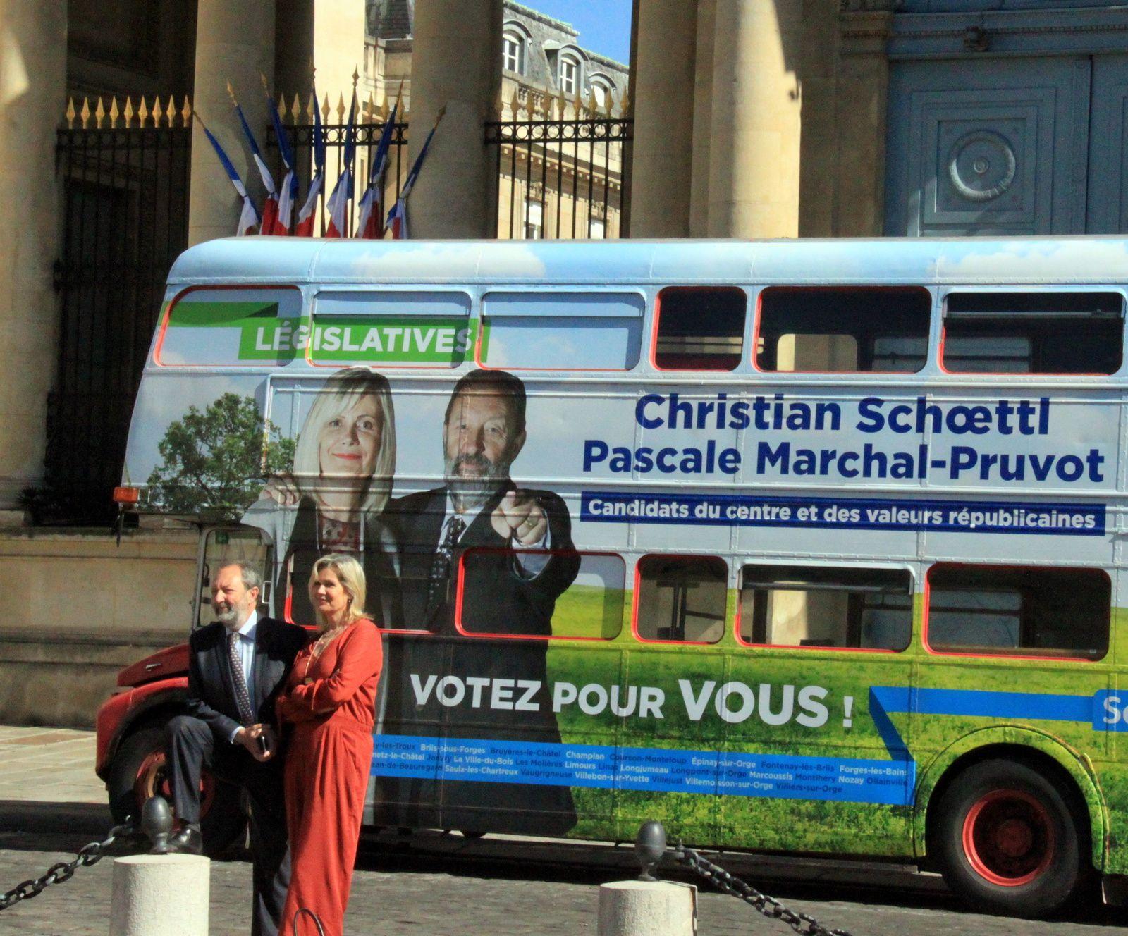 legislatives : la traversée de paris