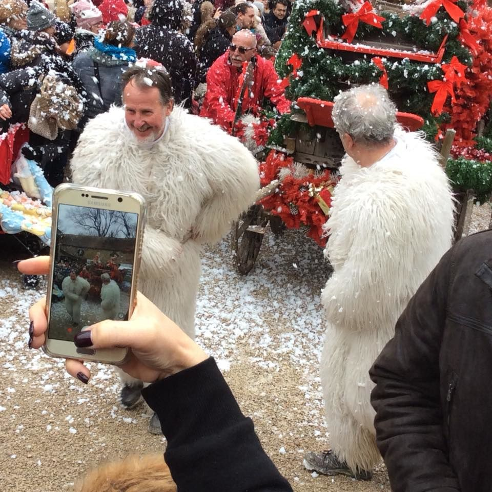 marché de noel de janvry deuxiéme week end,en images