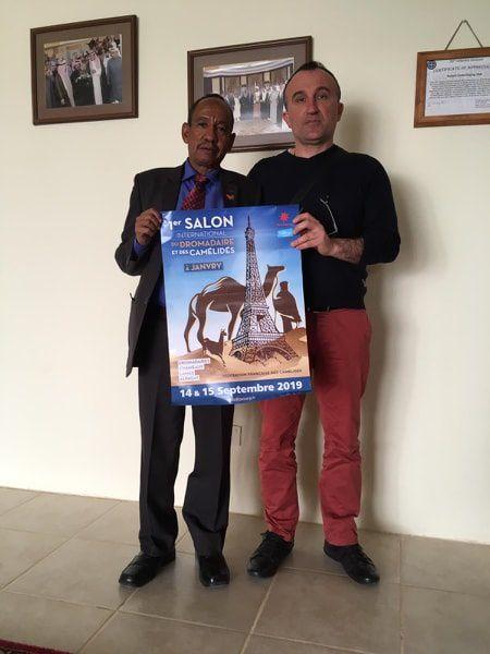 1° salon international  des camelidés , unique en france et une réalité qui prend une dimension internationale