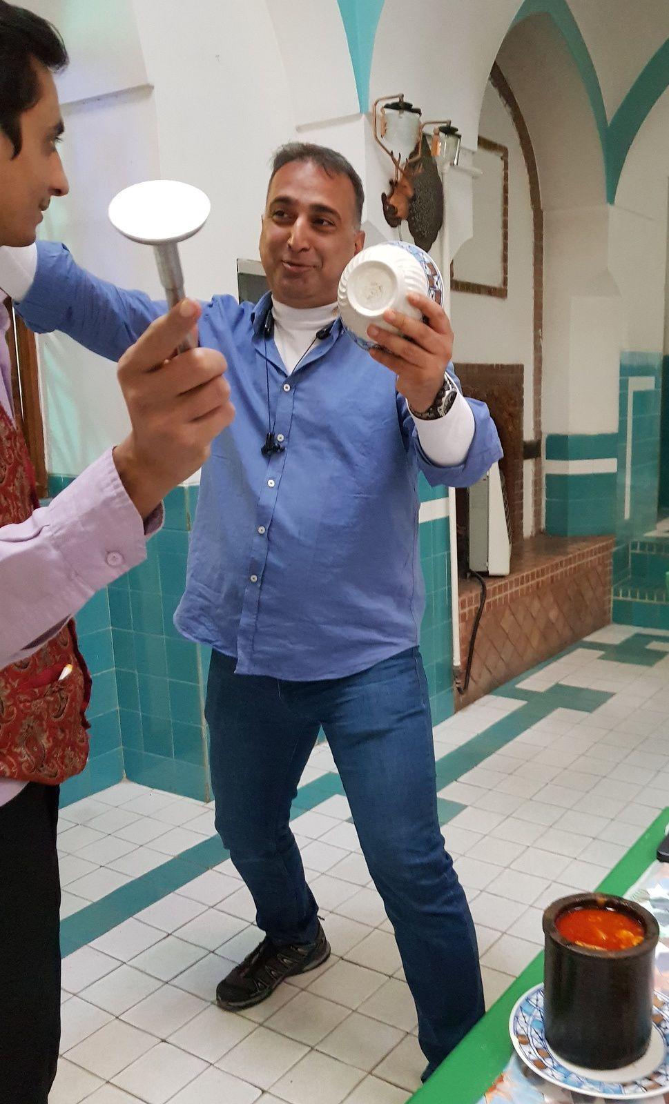 Reza MOSTAFAZADEGAN,l'être persan a rejoint son père