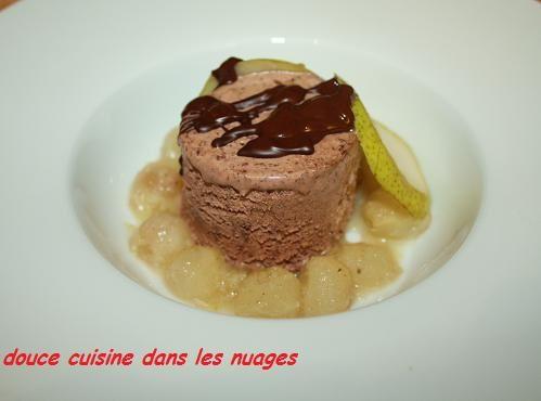 Glace chocolat suisse Mövenpick poires rôties à la fève tonka