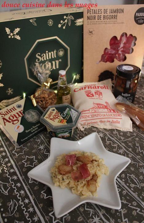Risotto au Saint Agur et Saint Agur à Noël