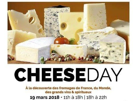 Fromage ou formaggio ou queso ou cheese oui mais au CHEESEDAY 2018