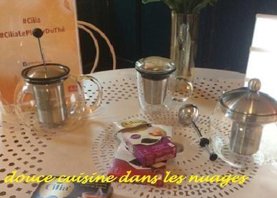 Le thé avec Cilia