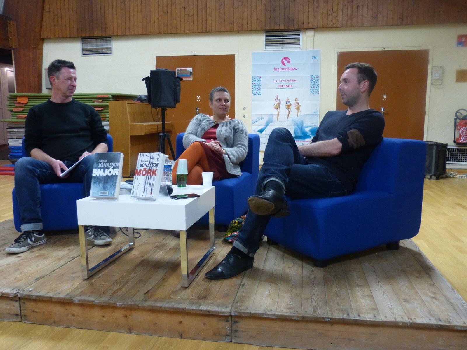 Rencontre avec Ragnar Jónasson à Fleury sur Orne