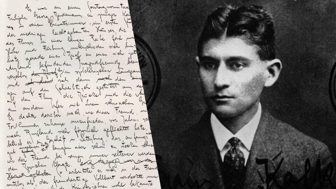 Une nouvelle traduction de l'oeuvre de Franz Kafka dans la Pléiade de Gallimard