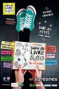 Salon du livre Ado - ville de Suresnes - 16 et 17 novembre 2019