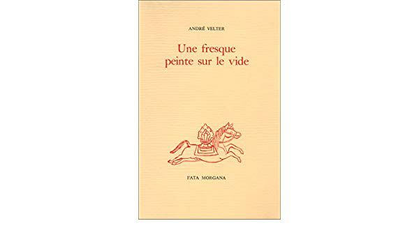 Les reflets de la source - poème d'André Velter (Fata Morgana)