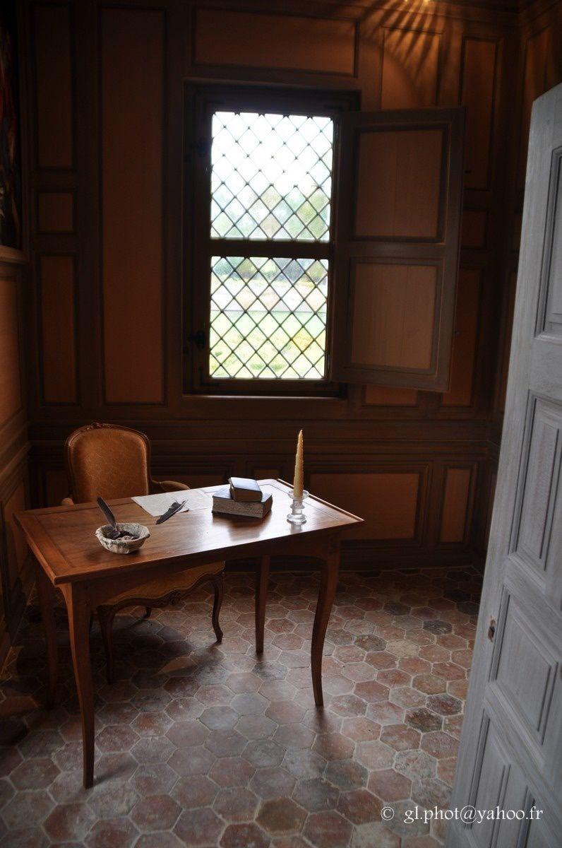 Domaine de Villarceaux : L'intérieur du manoir Ninon de Lenclos