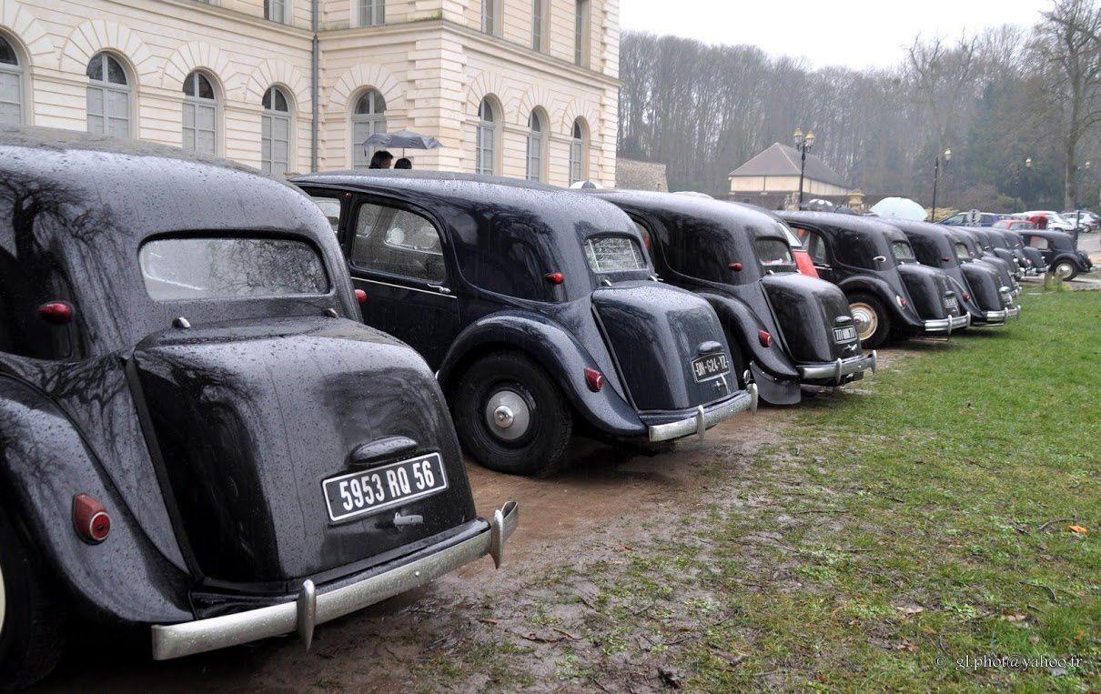 Club du Chevron château de Grouchy Osny  : Visite de la traction universelle