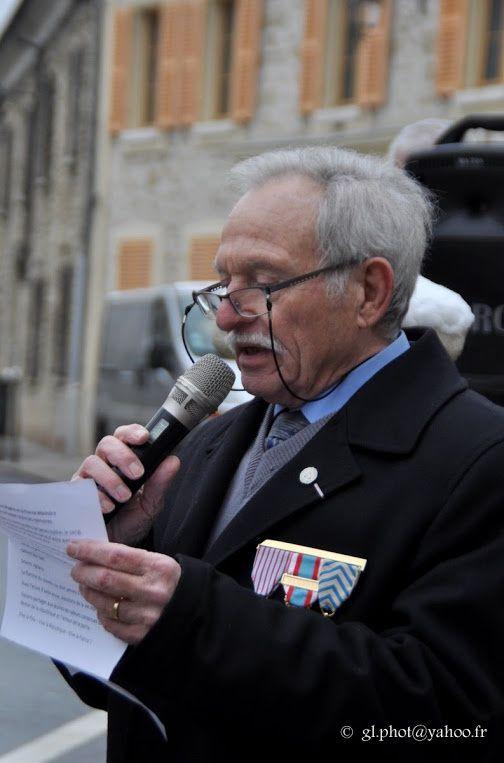 Cergy : Commémoration du cessez le feu de la guerre d'Algérie