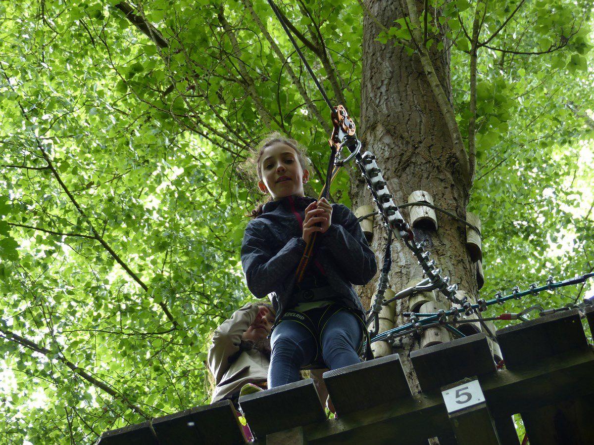 Une matinée au parc Xtrem aventures (accrobranche) de Cergy