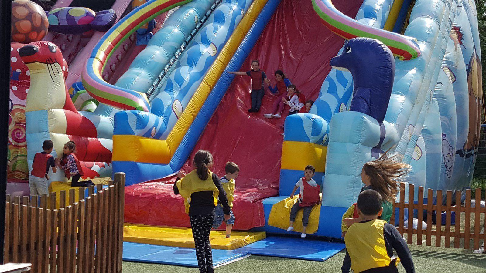 Jeux pour enfants de l'Île de Loisirs de Cergy