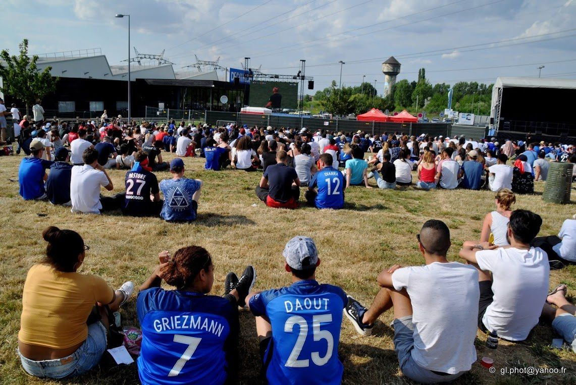 Fan zone coupe du monde de football