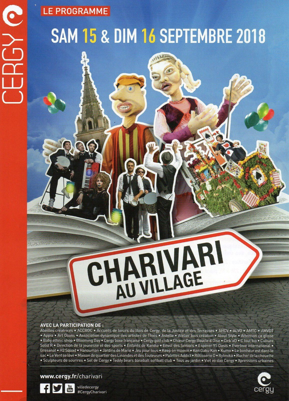 Charivari 2018 à Cergy Village