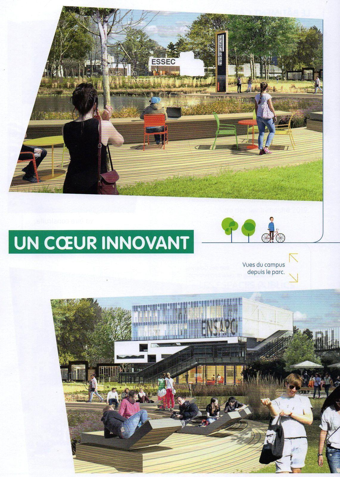 Projet Aménagement Grand Centre, coeur d'Agglomération Cergy-Pontoise