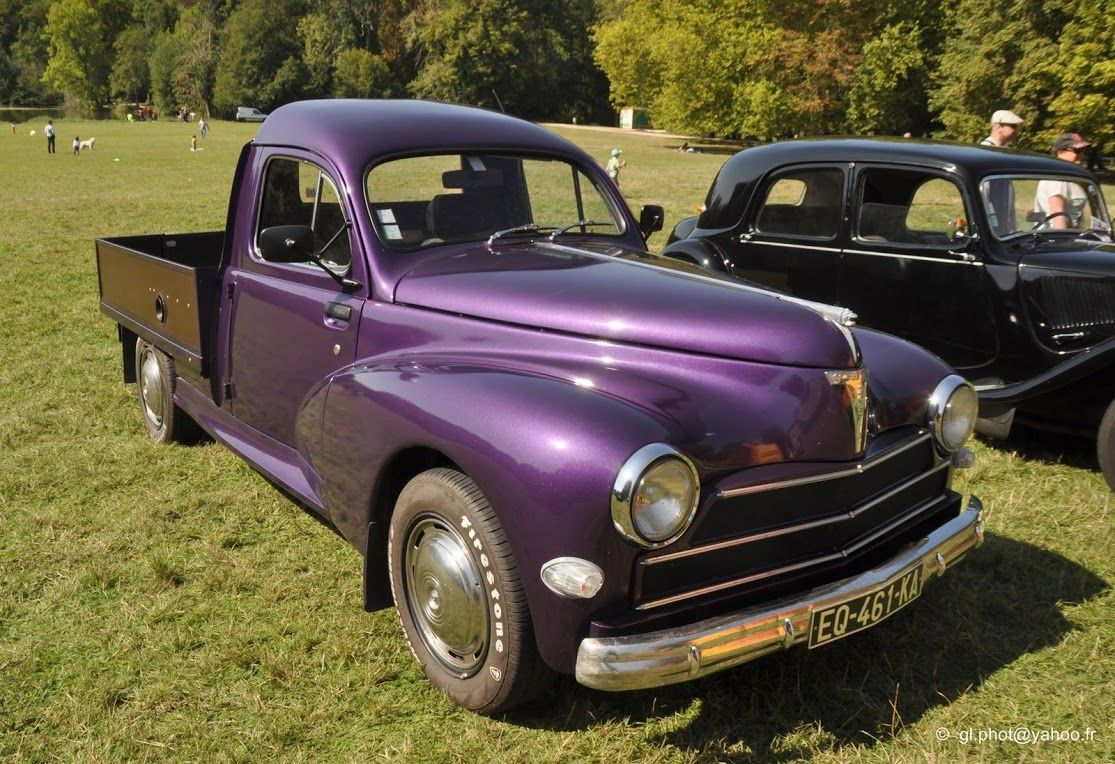 Peugeot 203 Pick Up Customisee Club Chevron A 0sny
