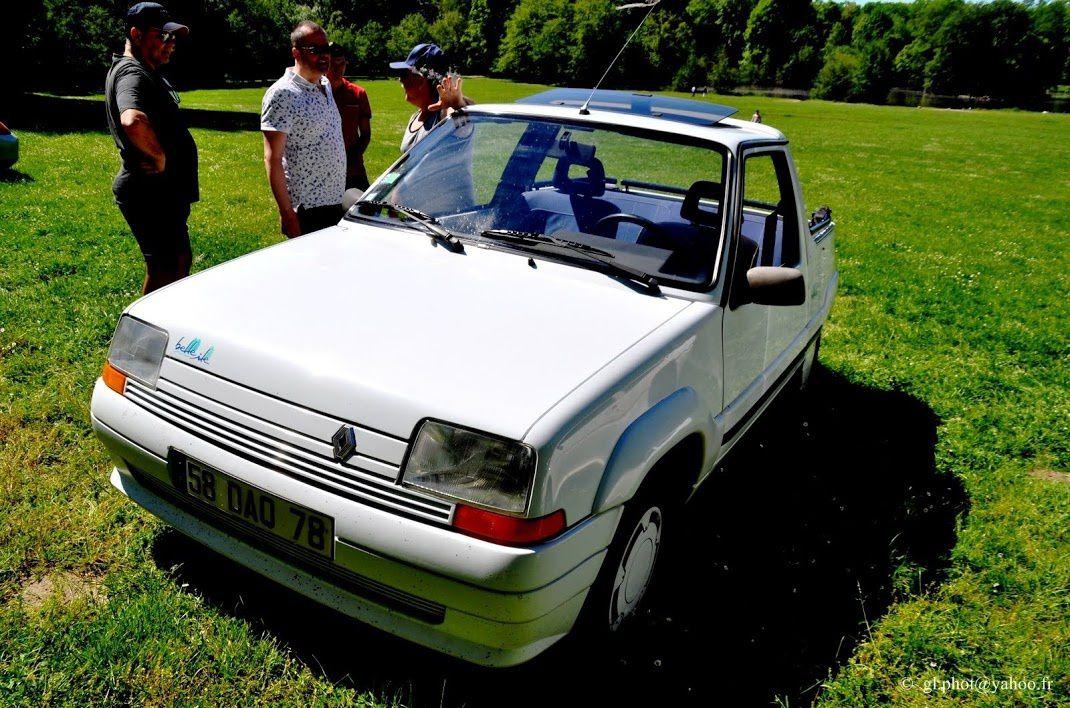 Renault 5 - Gruau - Belle île - 1992 au château de Grouchy