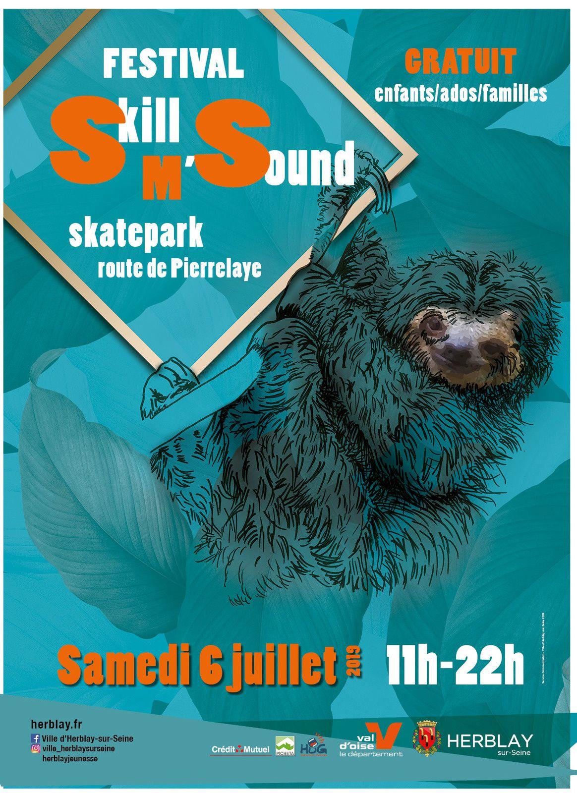 Skill'M'Sound au Skate Parc d'Herblay