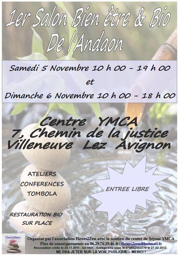 Salon bien-être de Villeneuve les Avignon 5 et 6 novembre 2016