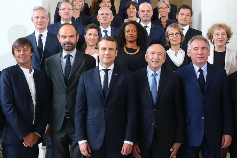Le premier gouvernement d'Emmanuel Macron / POLITIQUE / ACTUALITE