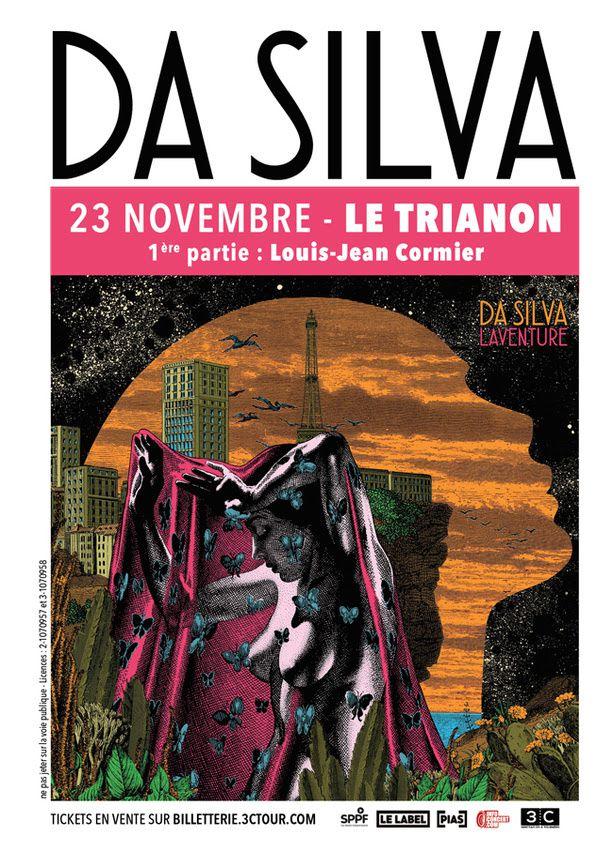 Da Silva au Trianon le 23/11 // 1ère partie : Louis-Jean Cormier / CHANSON MUSIQUE / ACTUALITE