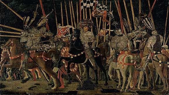 La bataille de San Romano, Paolo Ucello
