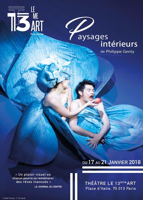 Philippe Genty présente Paysages Intérieurs au 13eme Art du 17 au 21/01 / THEATRE / PARIS