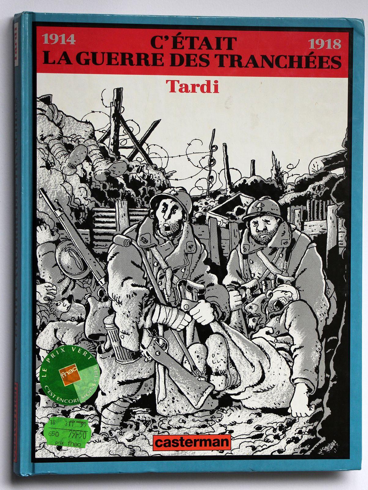 « La guerre 14-18 en bande dessinée » / BANDE DESSINEE / HISTOIRE