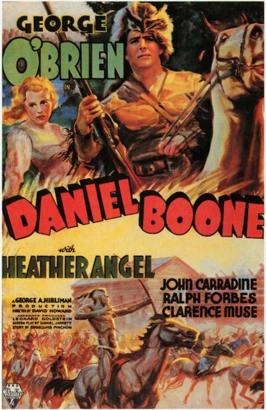 DANIEL BOONE / CINEMA / WESTERN / DAVID HOWARD / 1936