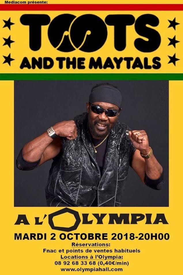 Toots & The Maytals en concert le 2 octobre à Olympia ! / ACTUALITE MUSICALE