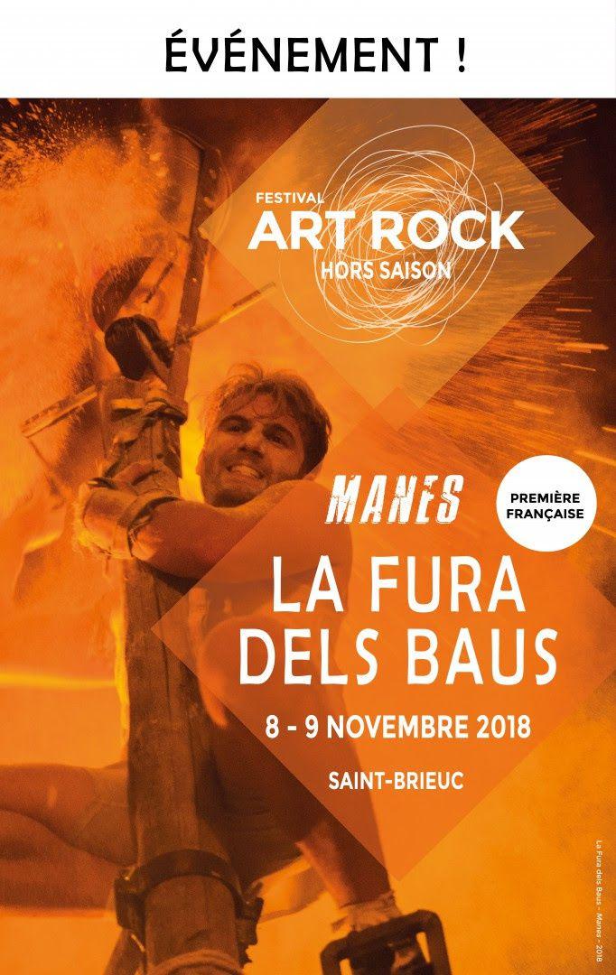 Art Rock - Hors Saison : La Fura dels Baus en novembre à Saint-Brieuc ! / ACTUALITE MUSICALE