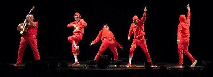 Les Wriggles - Complétement Red - Nouvel Album/Nouveau Spectacle / ACTUALITE SPECTACLES ET MUSIQUE