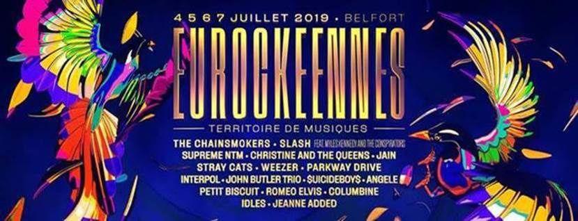 EUROCKEENNES 2019 : 30 ans et toujours mordant // Les premiers artistes ! / ACTUALITE MUSICALE