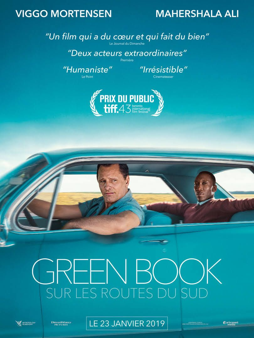 Green Book : Sur les routes du sud / CINEMA /  Peter Farrelly. 2019