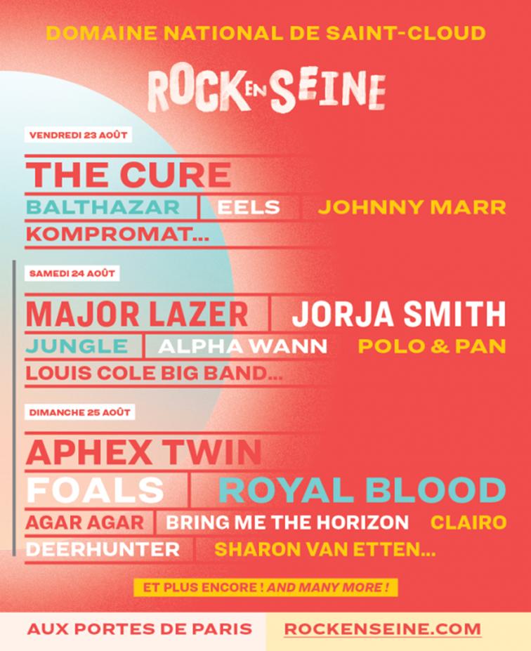 ROCK EN SEINE 2019 x Jeanne Added le 23 août ! / ACTUALITE MUSICALE