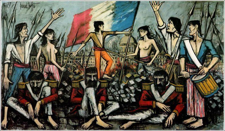 BERNARD BUFFET ETAIT A VASCOEUIL EN 1977 / ARTS PLASTIQUES / LA REVOLUTION