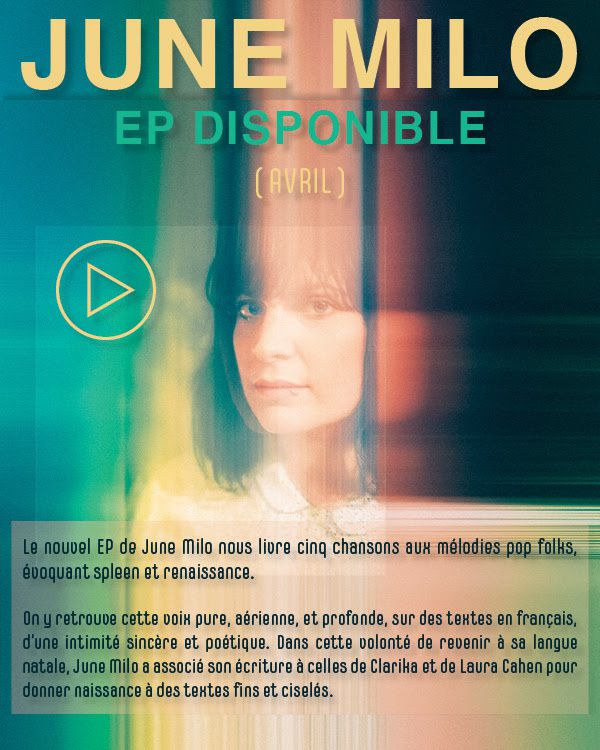 June Milo : EP disponible ! / ACTUALITE MUSICALE